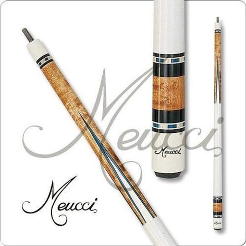 Meucci HOF02 Black Dot Pool Cue