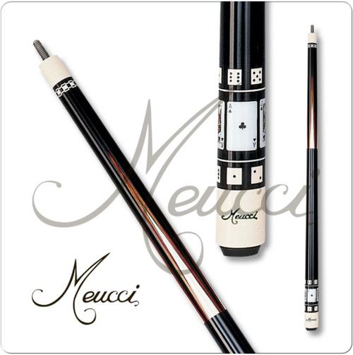 Meucci HOF04 Black Dot Pool Cue