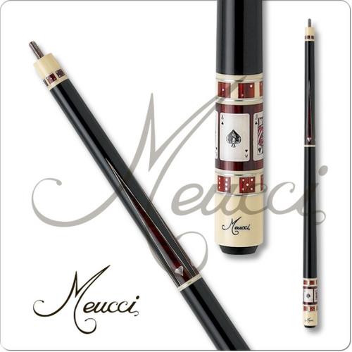 Meucci Gambler 3 Black Dot Pool Cue