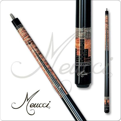Meucci HOF06 Black Dot Pool Cue