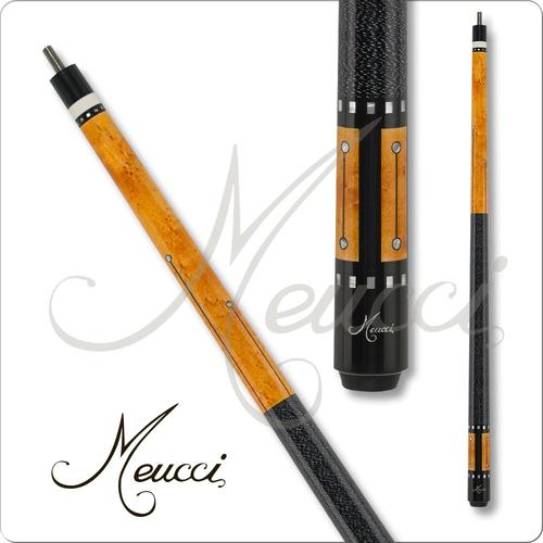 Meucci RB-5 Black Pool Cue