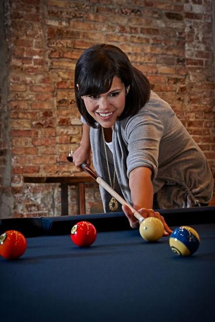 Brunswick Gold Crown VI Tournament Edition Pool Table