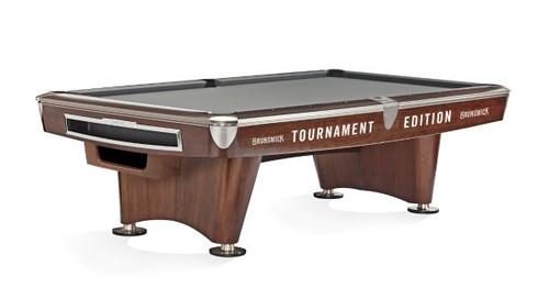 Brunswick Gold Crown VI Tournament Edition Pool Table Mahogany Gully