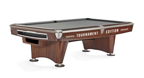 Brunswick Gold Crown VI Tournament Edition Pool Table Mahogany Gully