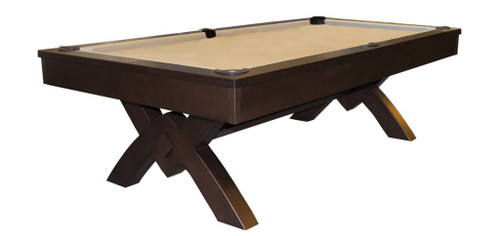 Olhausen Anaheim Pool Table Espresso on Maple