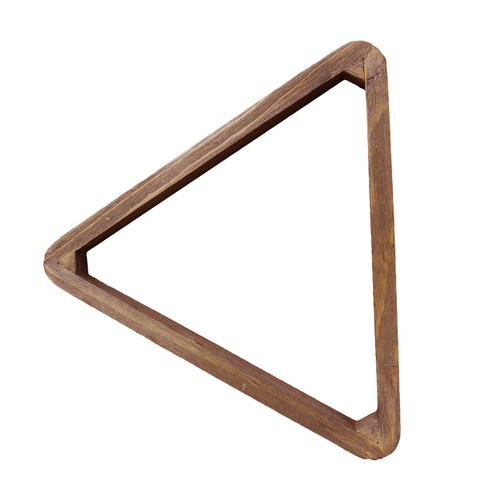 Bull Nose 8 Ball Wood Triangle Desert Chestnut