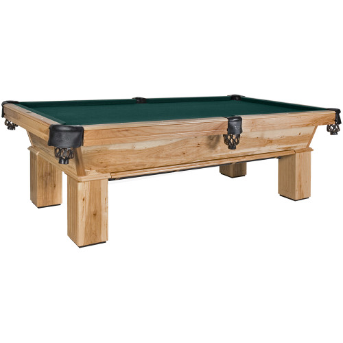 Southern Hickory Pool Table