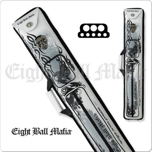 Eight Ball Mafia EBMCNB 3x5 Hard Cue Case
