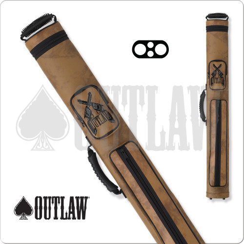 Outlaw OLH22 Guns 2x2 Hard Cue Case