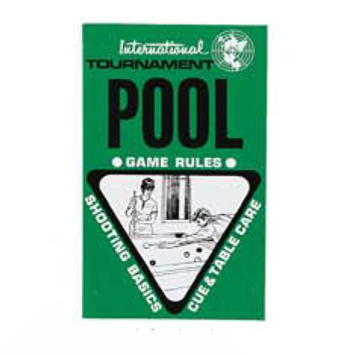 International Tournament Pool Rule Book