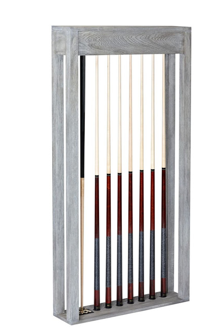 Brunswick Sanibel Wall Cue Rack Rustic Grey