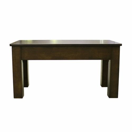 """Imperial 36"""" Cappuccino Bench"""