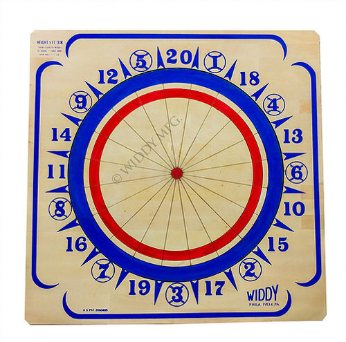 Widdy Wood Dart Board