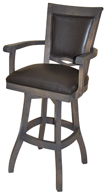 Tobias 400 with Arms S-Base Stool