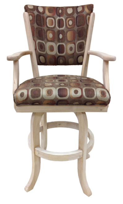Tobias Classic with Arms Stool