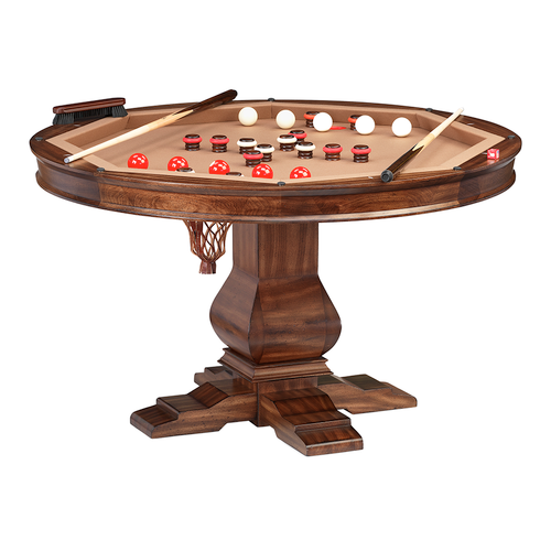 Darafeev Amerigo Poker Dining Game Table with Bumper Pool