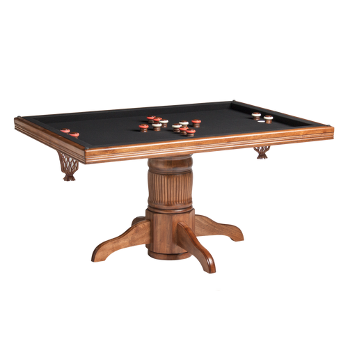 Darafeev Monaco Poker Dining Game Table with Bumper Pool