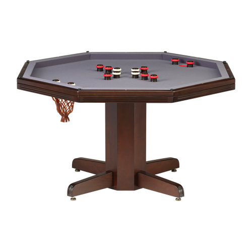 Darafeev Reno Poker Dining Game Table with Bumper Pool