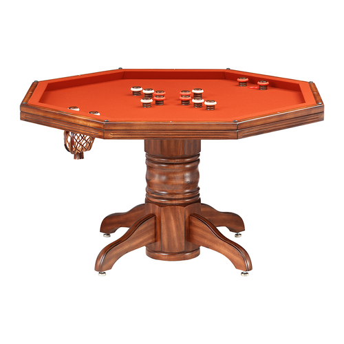 Darafeev Riviera Poker Dining Game Table with Bumper Pool