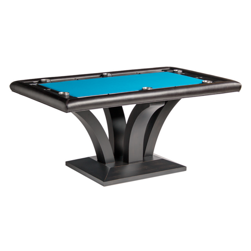 Darafeev Treviso Rectangular Poker Table with 2 Piece Dining Top