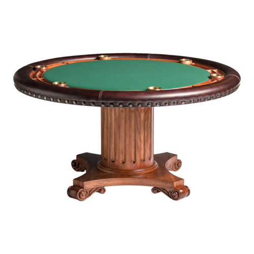 Darafeev Augustus Poker Table w/ Optional Dining Top