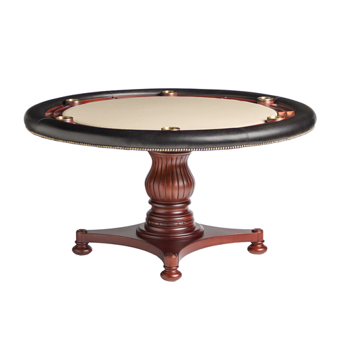 Darafeev Calais Poker Table w/ Optional Dining Top