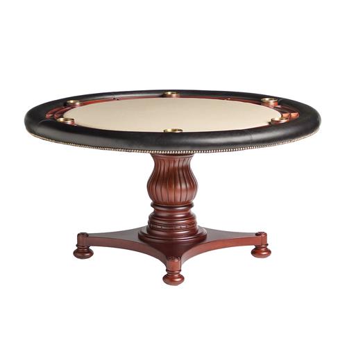 Darafeev Calais Poker Table w/ Optional Dining Top