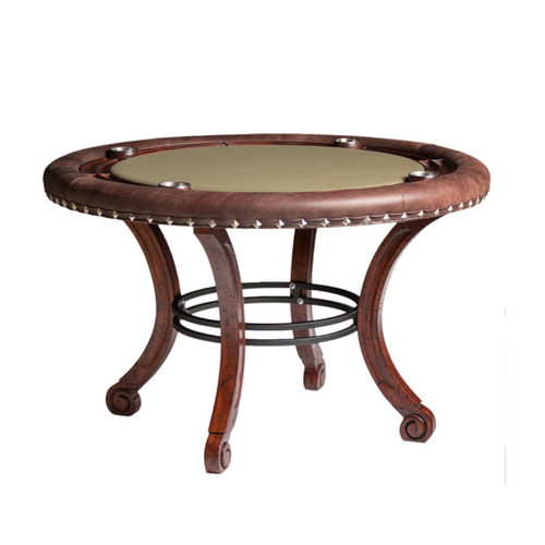 Darafeev Madrid Poker Table w/ Optional Dining Top