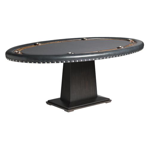 Darafeev Torino Poker Table w/ Optional 2-Piece Dining Top