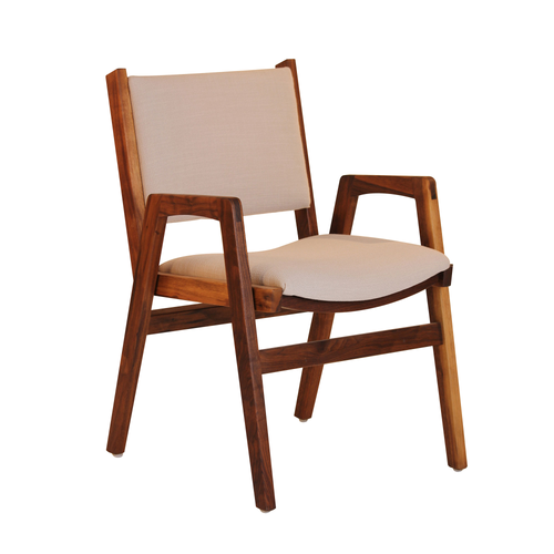 Darafeev Spencer Stacking Chair - Walnut