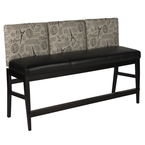 Darafeev Roncy Flexback Three Seater Bench