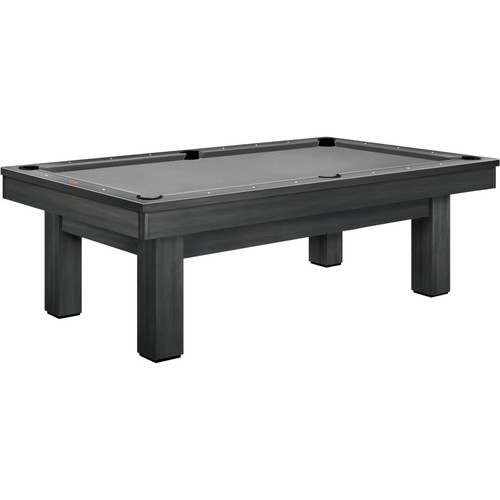 Olhausen West End Pool Table Matte Smoke on Maple