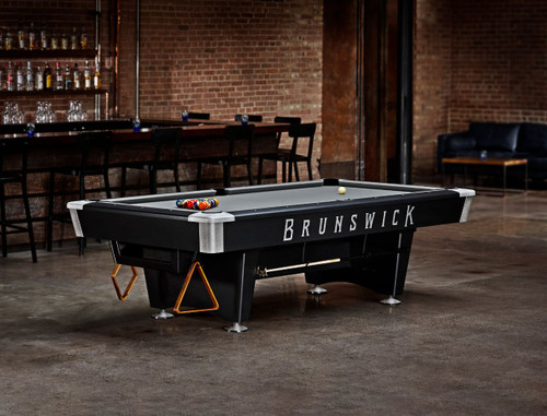 Brunswick Black Wolf Pro Pool Table