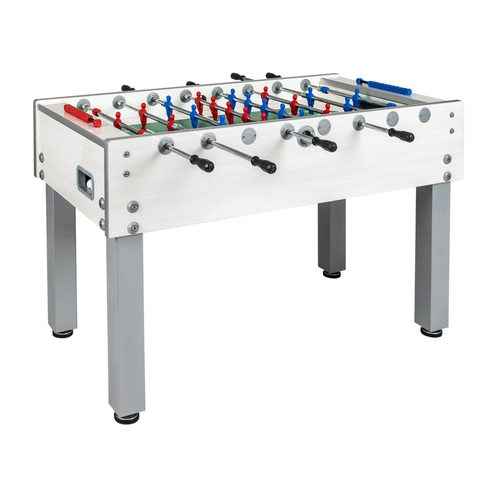 Garlando G-500 White Outdoor Weatherproof Foosball