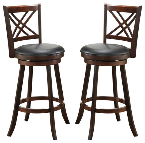 "ECI Double X Back 24"" Counter Stool"