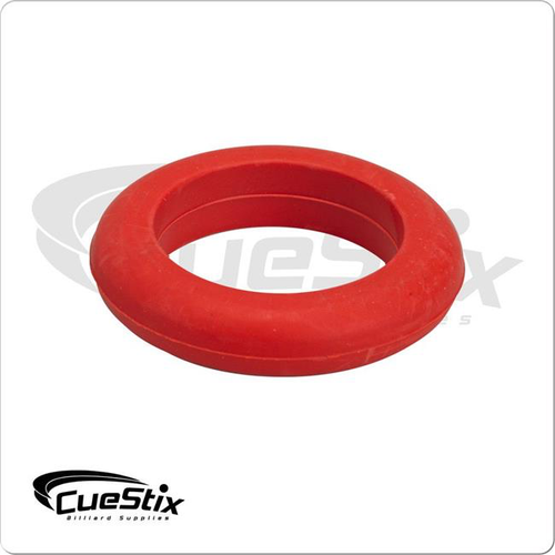 Cuestix Bumper Pool Table Large Post Ring Red - Sold Each