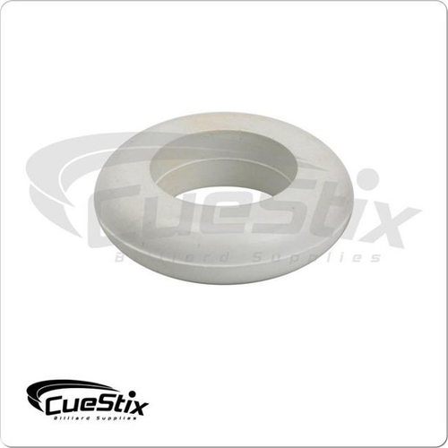 Cuestix Bumper Pool Table Small Post Ring White - Sold Each