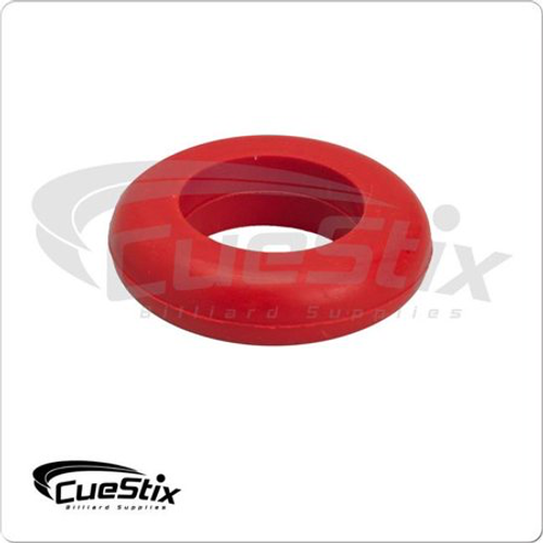 Cuestix Bumper Pool Table Small Post Ring Red - Sold Each