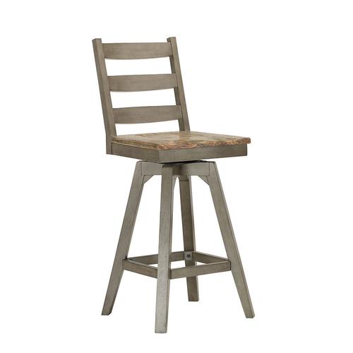 "ECI Pine Crest 30"" Ladderback Bar Stool"