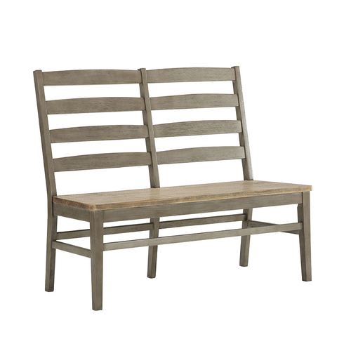 ECI Pine Crest Ladderback Bench