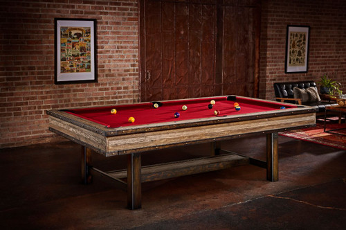 Brunswick Edinburgh Pool Table Metal Legs