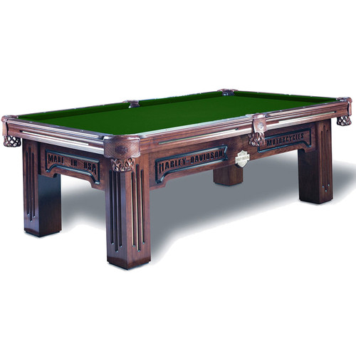 Olhausen Harley-Davidson Maple Pool Table