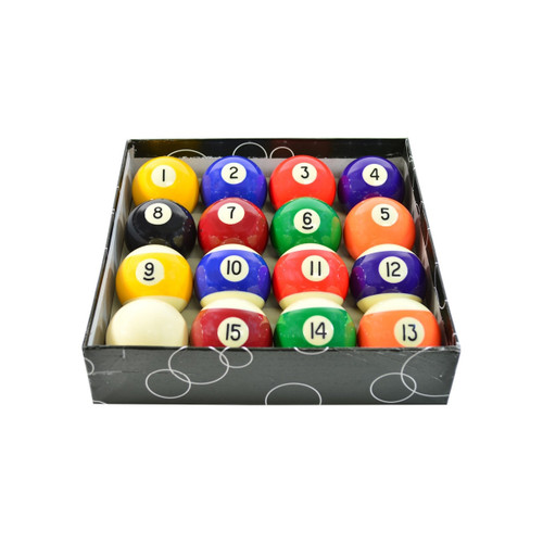 Imperial Economy Series 2-1/4 inch Billiard Ball Set