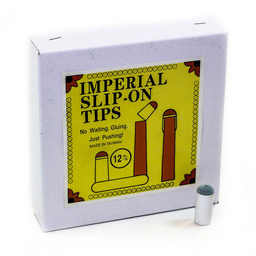 Imperial Economy Slip-on 12mm Cue Tip - Box of 100