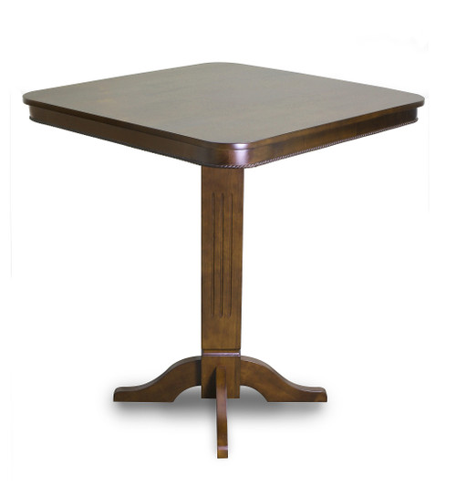 Imperial Pub Table Antique Walnut