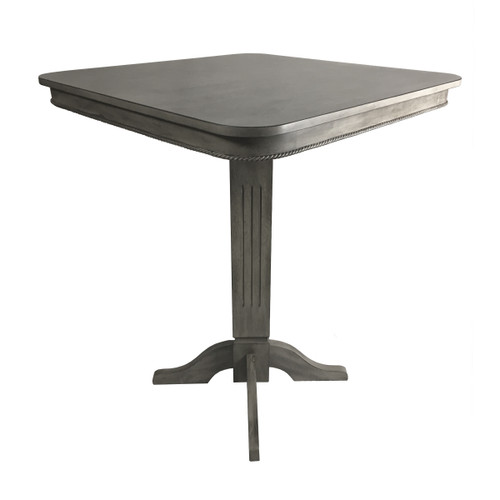 Imperial Pub Table Weathered Silver Mist