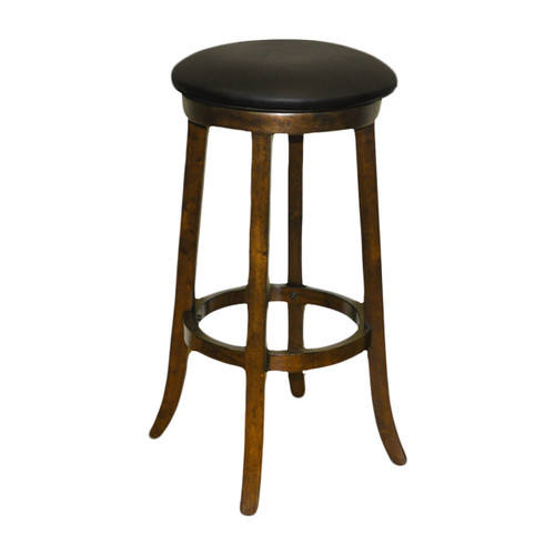 "Imperial 30"" Backless Bar Stool Antique Walnut"