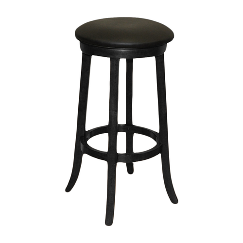 "Imperial 30"" Backless Bar Stool Black"