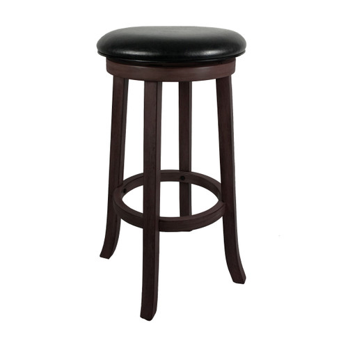 "Imperial 30"" Backless Bar Stool Weathered Dark Chestnut"