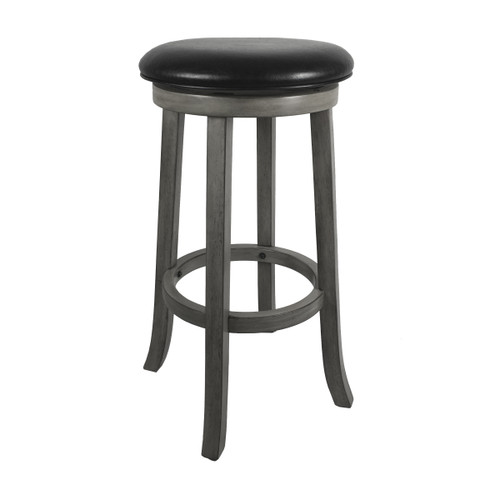 "Imperial 30"" Backless Bar Stool Silver Mist"